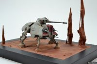 AT-TE diorama