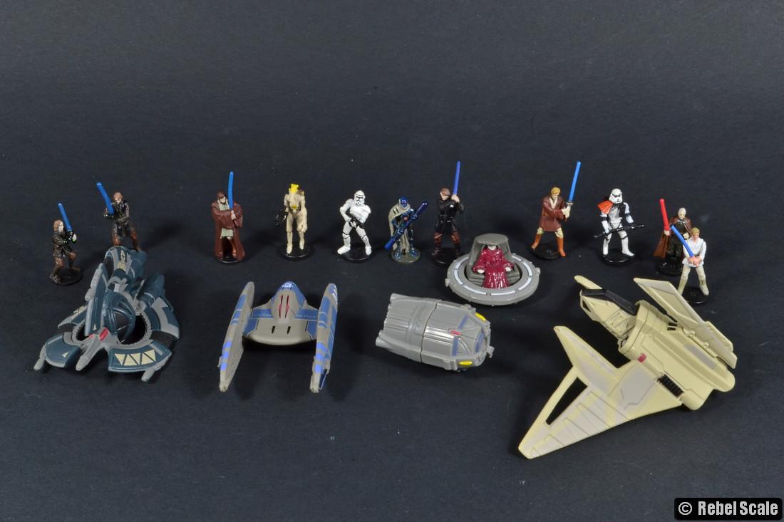 Star Wars Micro Vehicles Scale List Rebel Scale