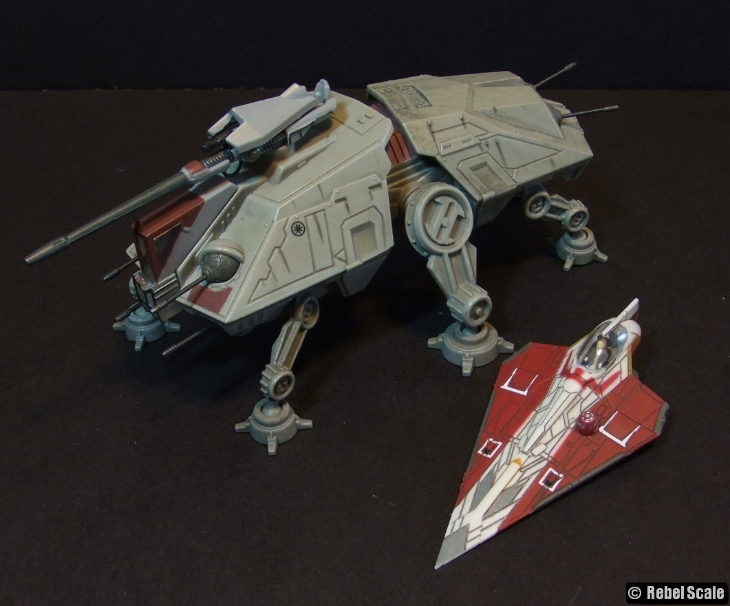 X-Wing ARC-170 Starfighter-Star Wars Vehicle-Titanium Series Two Pack-MOC