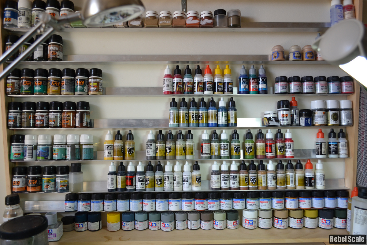 Years of paint collection