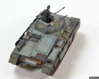 Panzer II with schurzen