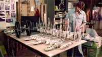 ILM studio models for ANH (clearly not in same scale)