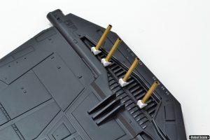 21 - Scratchbuilt details to the wing mounts