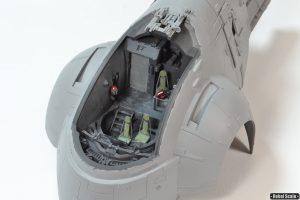 16 - Painted cockpit